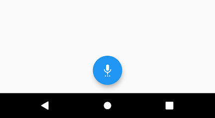 Align or Float the FloatingActionButton in the Center of Screen